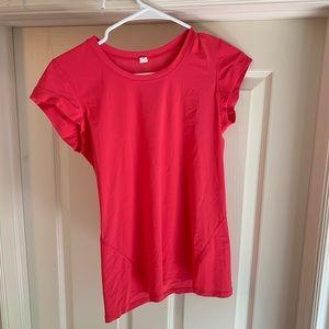 Pink lululemon shirt